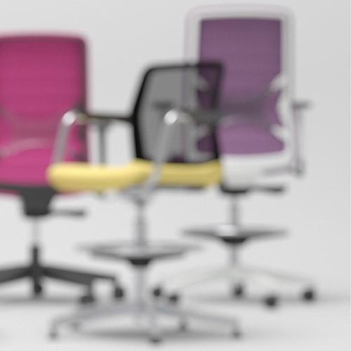 Высокие офисные кресла